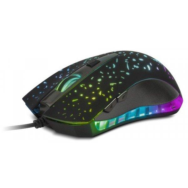 Mouse Xtech Gamer USB 6 botones 7 colores 2400 DPI