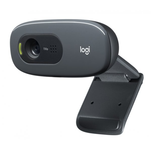 Webcam Logitech HD C270 1280 x 720 Pixeles USB 2.0 Negro