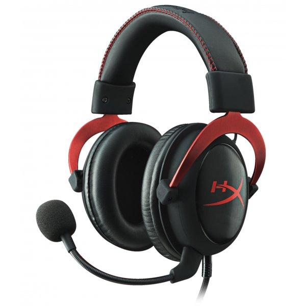 Audifonos Gamer HyperX Cloud II (Rojo)