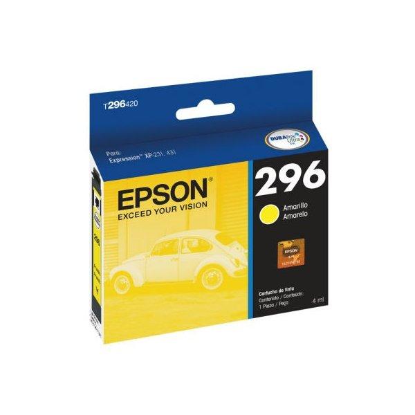 Cartucho de Tinta Epson T296420-AL Amarillo
