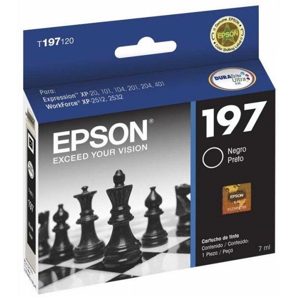 Cartucho de Tinta Epson T197120-AL Negro
