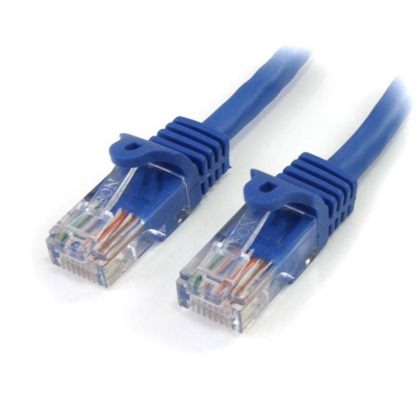 Cables Startech 5mts de Conexión Cat 5e