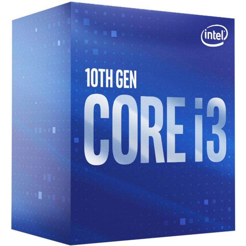 Procesador Intel Core i3-10100 Comet Lake LGA1200 4 Cores 8 Hilos 3.6GHz