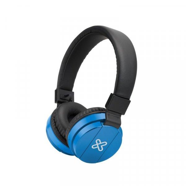 Audífono KlipX Fury Blue Inalámbrico