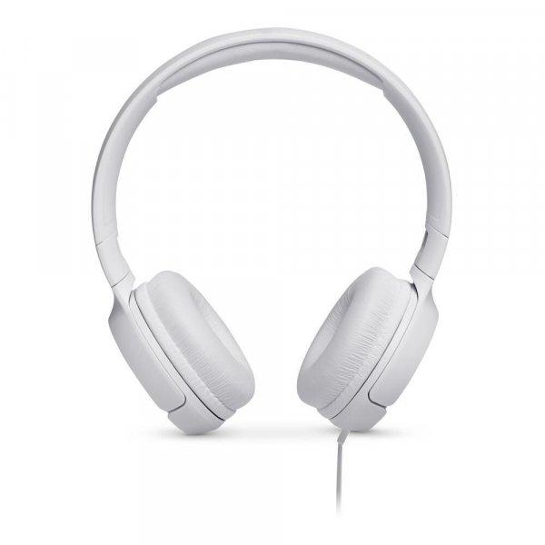 Audífono JBL Tune 500 Conector 3.5mm Blanco