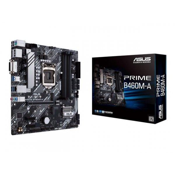 Placa Madre Asus Prime B460M-A  micro ATX Socket LGA1200 B460 USB 3.2 Gen 1 Gigabit LAN