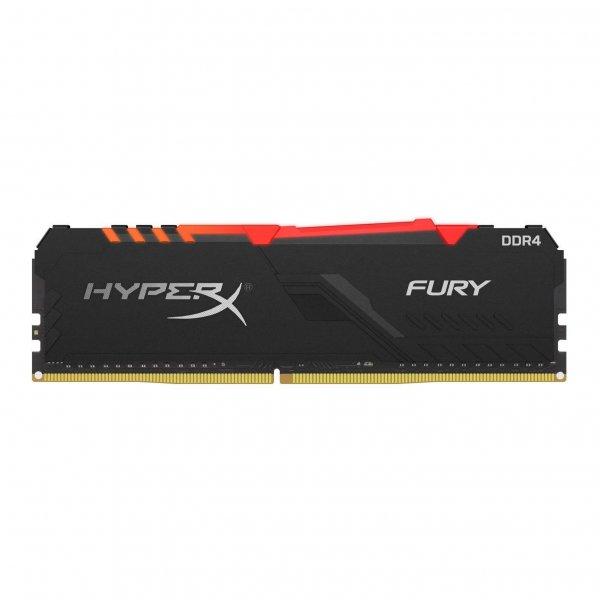 Memoria Ram HyperX Fury RGB de 16GB 2666MHz DDR4 CL16 DIMM RGB