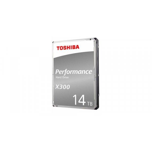 "Disco Duro 14TB para PC Toshiba Performance X300 3.5"" 7200 RPM 256MB Cache SATA 6.0Gb/s"