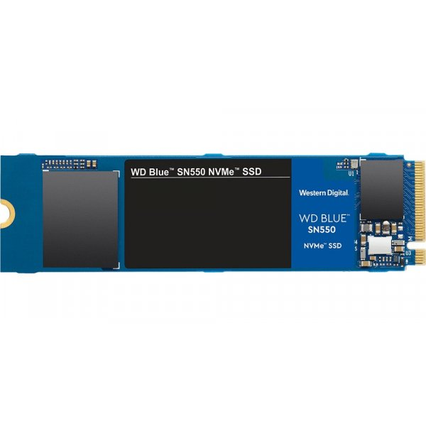 Disco Duro SSD 1TB Western Digital Blue SN550 NVMe™ PCIe Gen 3 Lectura 2400MB/s Escritura 950MB/s