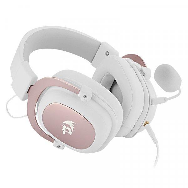 Audífono Redragon Zeus H510W Blanco