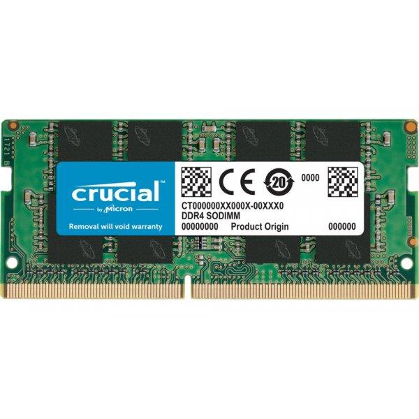 Memoria Ram Crucial de 8GB DDR4 3200MHz CL22 SODIMM