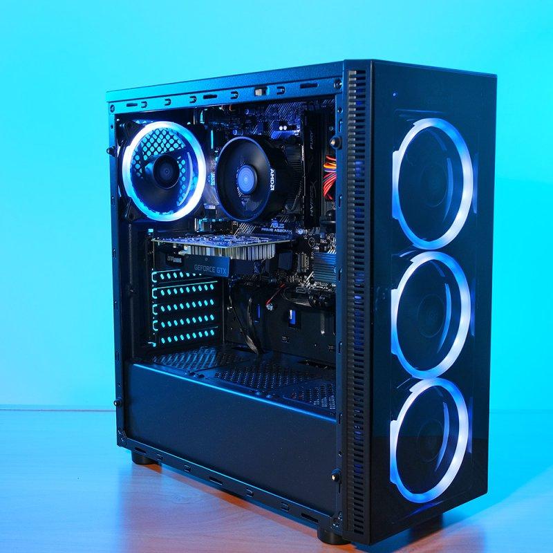 Spider Build Plus AMD Ryzen 5 2600 | Zotac 1650 | 16 GB RAM | Asus Prime A520MK | 250 GB SSD | 1 TB HDD