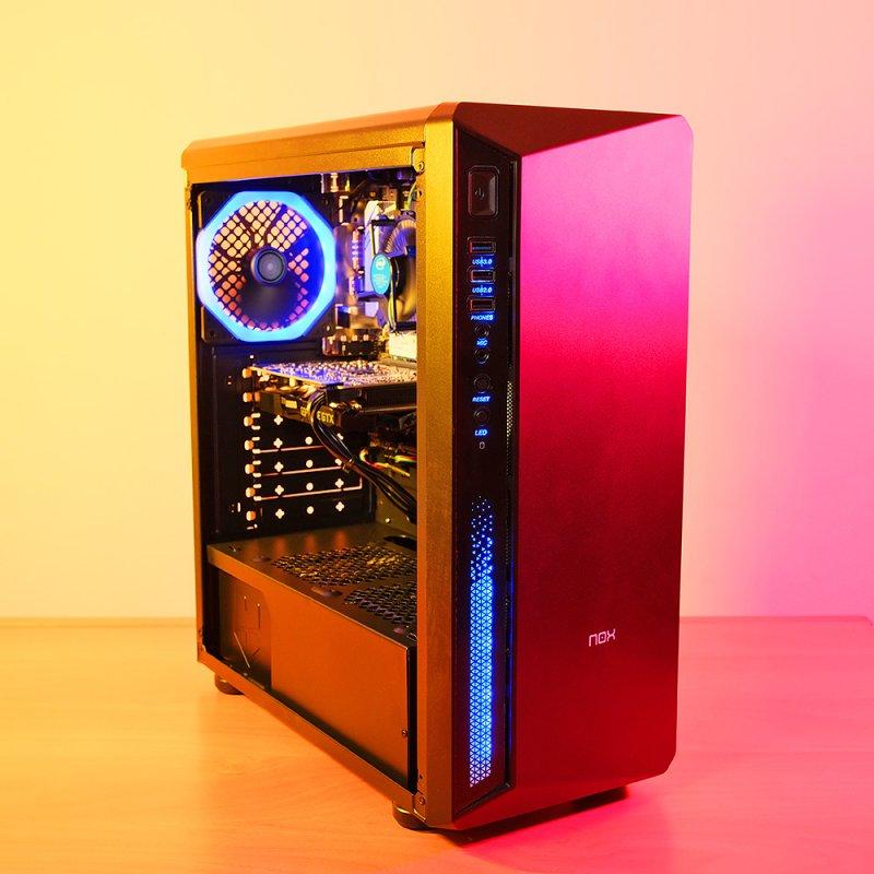 Spider Build Ultra Intel i5 10400F | 1660 Super | 16 GB RAM | Asus B460m-A | 500 GB SSD | 1 TB HDD
