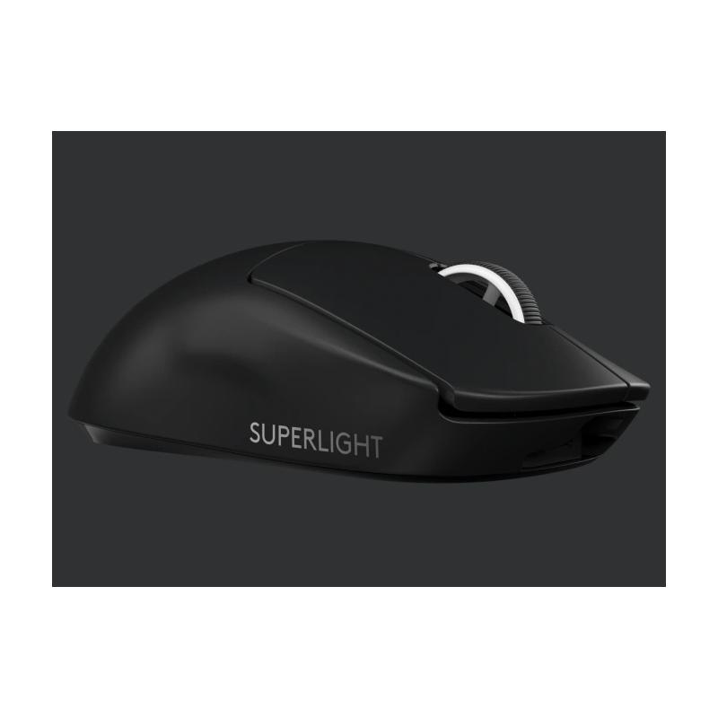 Mouse Logitech G Pro X Superlight Wireless Lightspeed Sensor Hero 25000DPI 1000Hz Color Negro