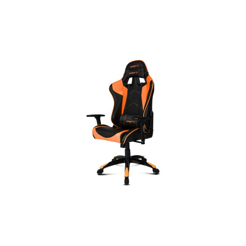 Silla Drift Gaming DR 300 Naranja/Negro