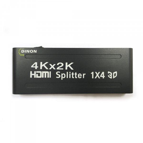 Splitter HDMI Amplificado 4 Salidas  3D 4k2k