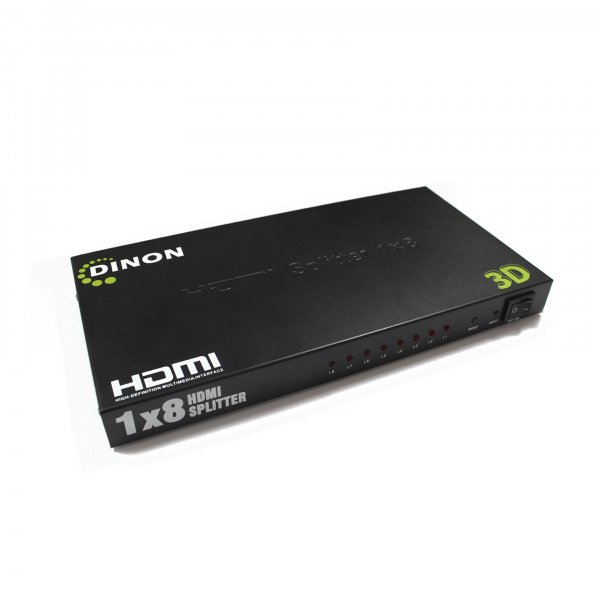 Splitter HDMI Amplificado 8 Salidas Soporta 3D