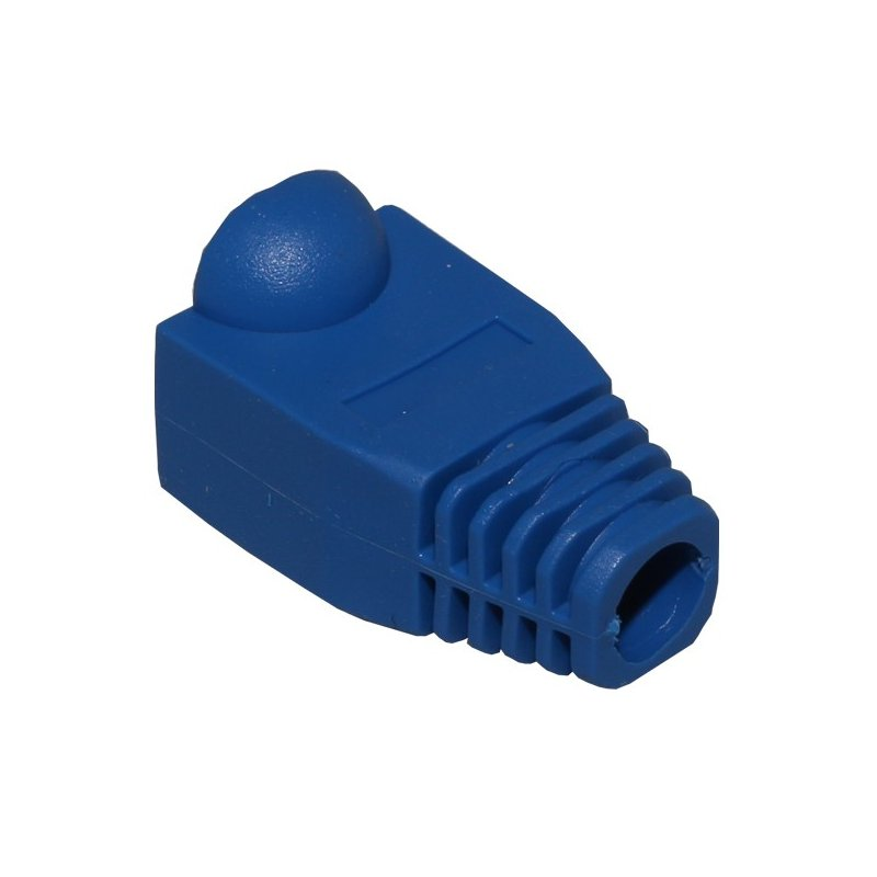 Pack 100 Fundas para Conector RJ45 Azul
